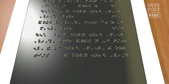 The Holy Braille Tablet Could Totally Change How Blind People Consume Information