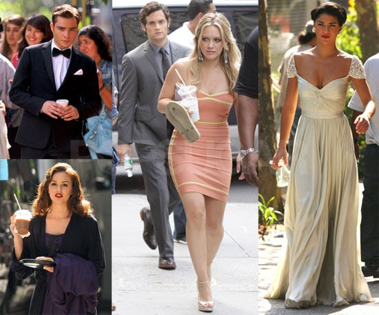 Photos of Gossip Girl Filming in Gramercy Park While Blake Lively Works on the Town