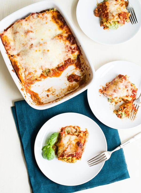 Pesto-Lasagna Roll-Ups