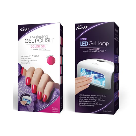 For an affordable LED option, look to the Kiss Everlasting Pro Lamp ($30) to cure your other gel polishes. But if the full deal is what you desire, a more complete Kiss Gel Polish Starter System is available too.