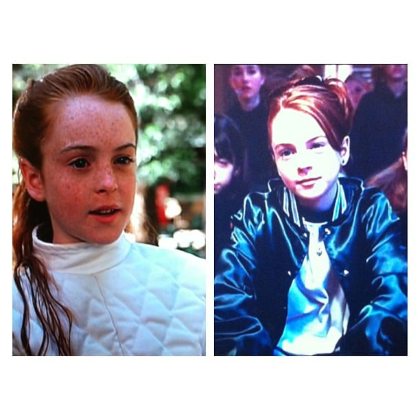 Oh, Linds! Jess watched The Parent Trap on TV and had a bit of a we-miss-the-old-Lindsay moment.