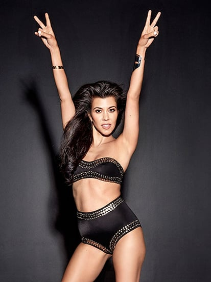 Kourtney Kardashian Supports Sister Kim's Social Media Smackdown on Taylor Swift