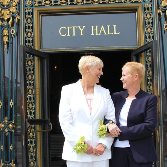 Lesbian San Francisco City Hall Wedding