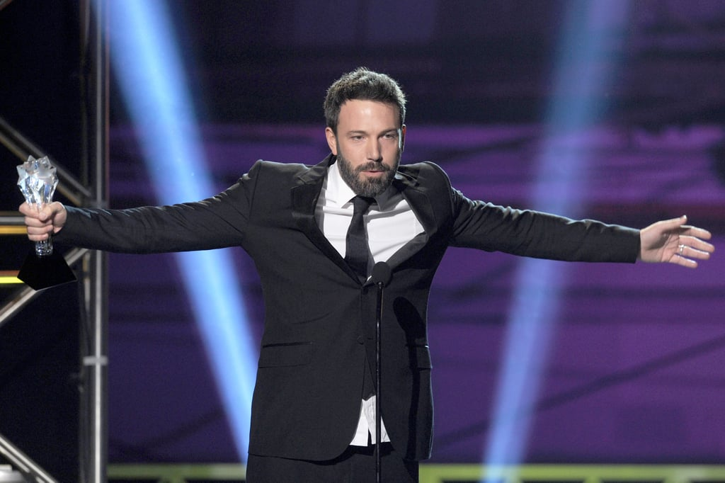 That moment at the 2013 awards when Ben Affleck won for Argo and just embraced his baller status.