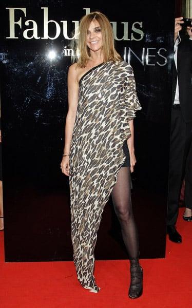 "May 22: Carine Roitfeld at Dolce & Gabbana's ""Fabulous in Cannes"" bash at Le Baoli"