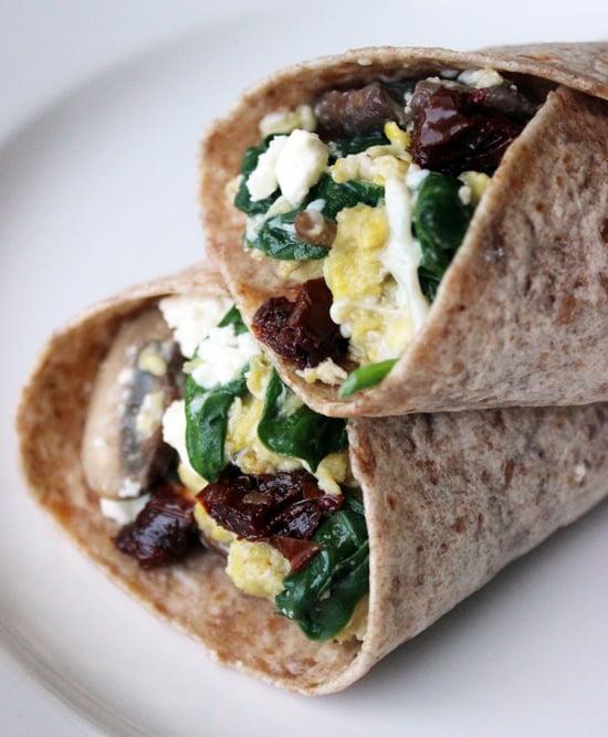 Spinach-Feta Wrap