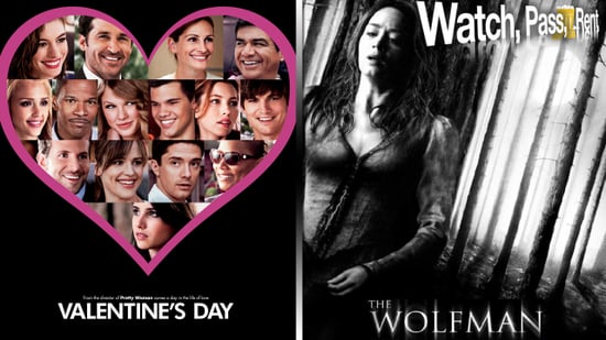 Valentine's Day Movie Review and The Wolfman Movie Review
