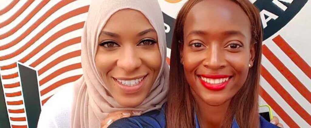 The World's First Olympic Fencer in a Hijab Makes Facebook's Top Rio Moments