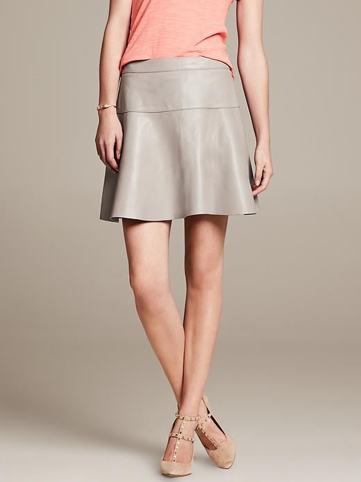 Banana Republic Leather Skirt
