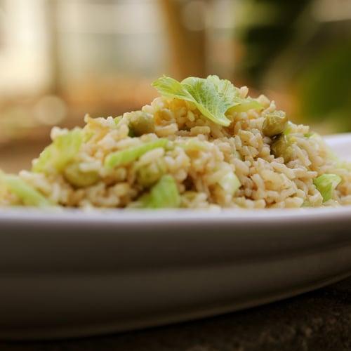 Edamame Rice Salad