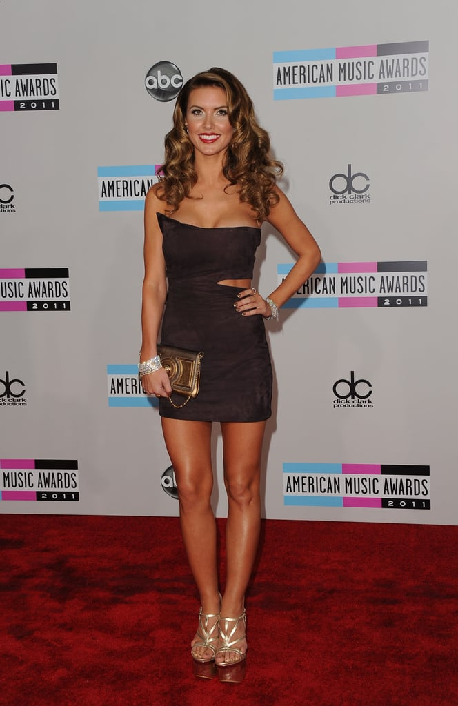 Ladies Red Carpet at American Music Awards