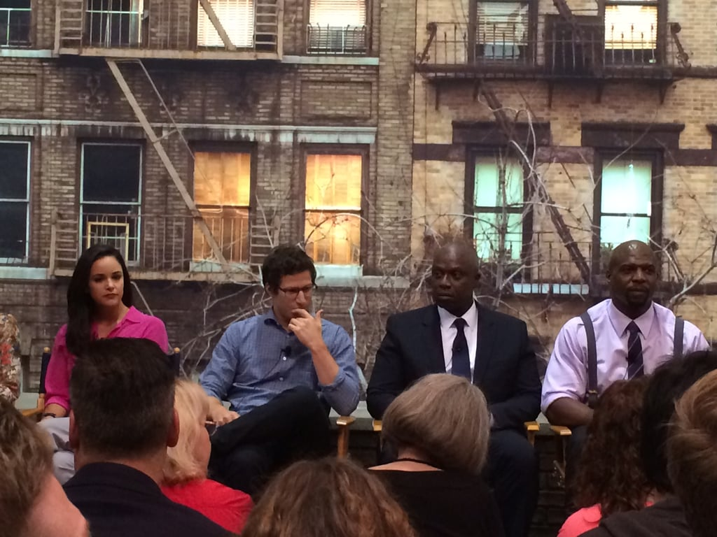 The cast gathered for the show's panel and gave some season-two spoilers.