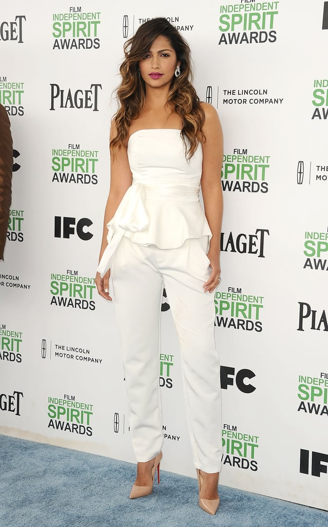 In March 2014 at the Film Independent Spirit Awards in Los Angeles