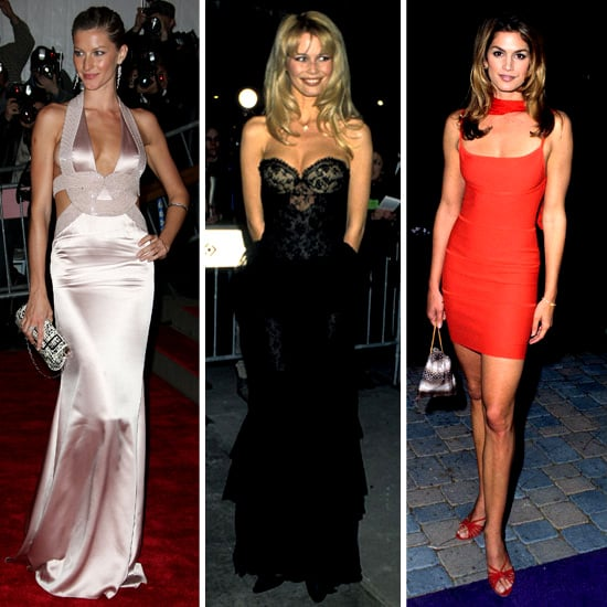 Claudia, Naomi, Kate & Linda-Supermodel Style Never Changes