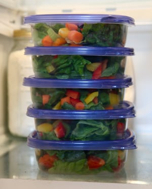 Pack Salad For Lunch to Lose Weight