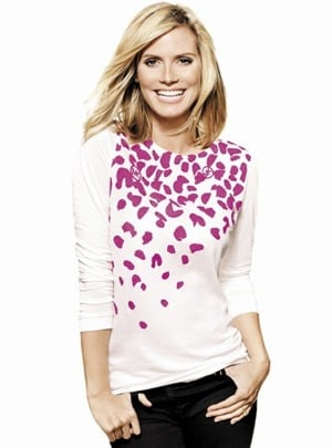 Heidi Klum and Michael Kors for Saks' 2009 Key to the Cure Breast Cancer Campaign