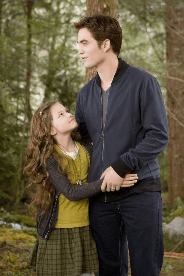Robert Pattinson in Breaking Dawn — Part 2