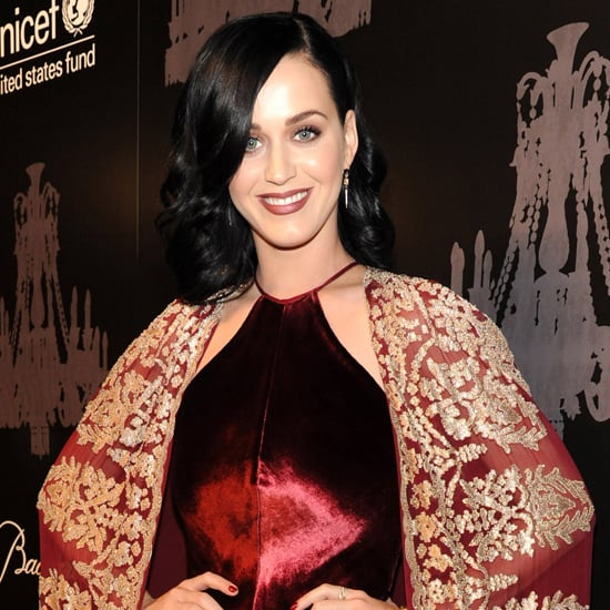 Katy Perry's Red Dress at the Unicef Snowflake Ball