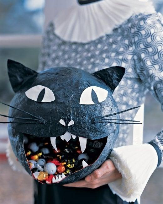 Кошка хэллоуин своими руками