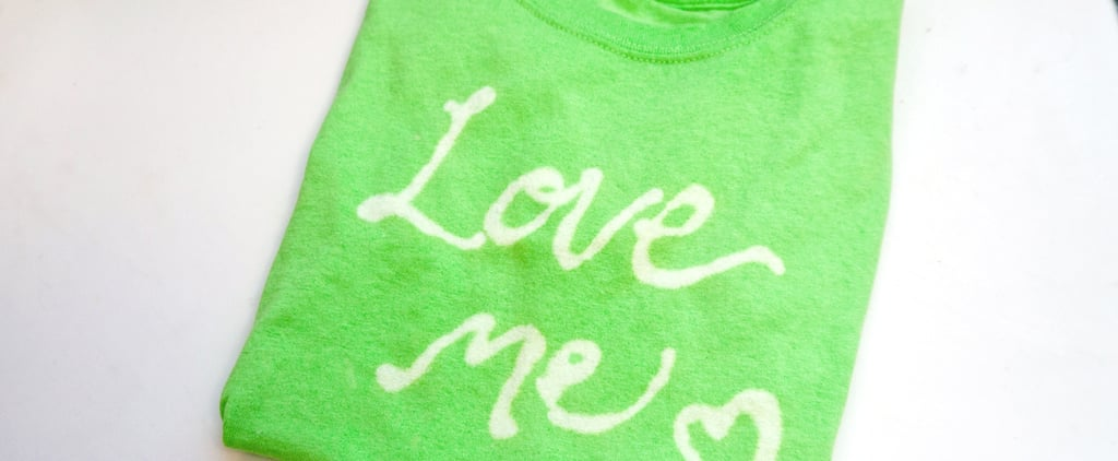 DIY Your Own Personalized Message T-Shirt