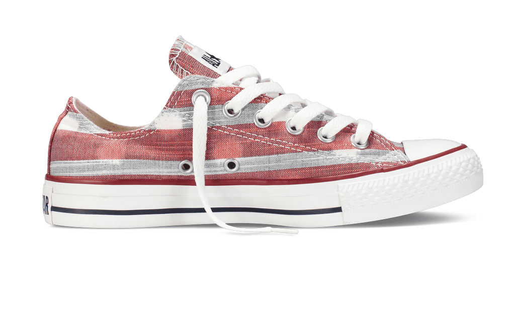 Few brands feel as American as Converse. If you've been hitting the street in the same beat-up set for years (or decades), then upgrade to this faded pair ($60).