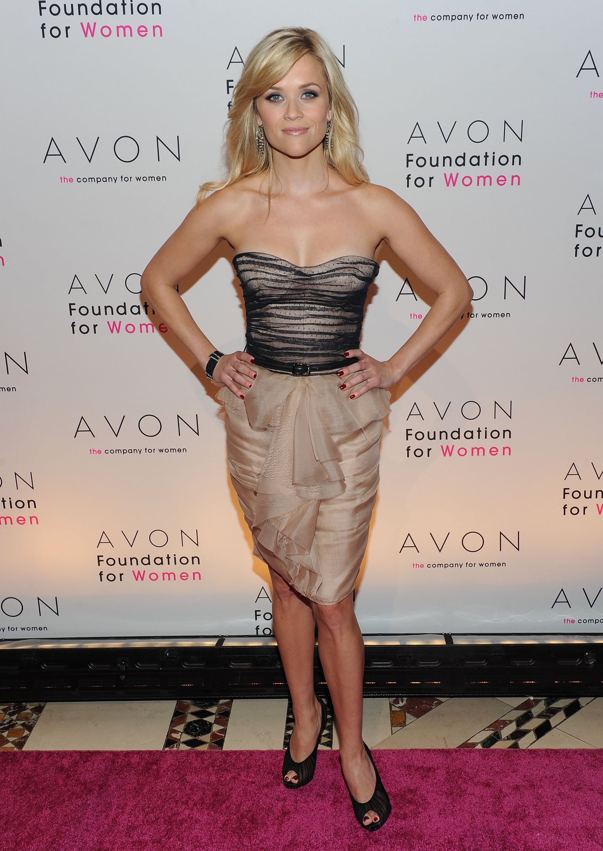 Reese Witherspoon in Jason Wu at 2010 Avon Foundation Gala