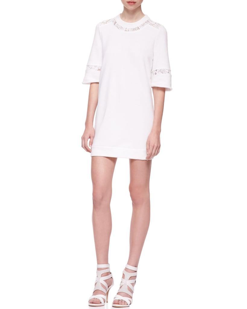 Rebecca Taylor White Knit Dress