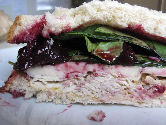 Turkey Sandwich With Cherry Compote Recipe