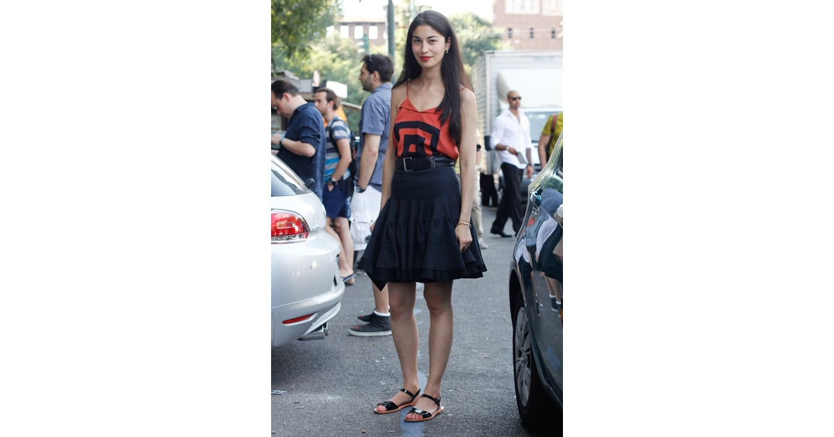 Caroline Issa on Going From Street Style Star toDesigner