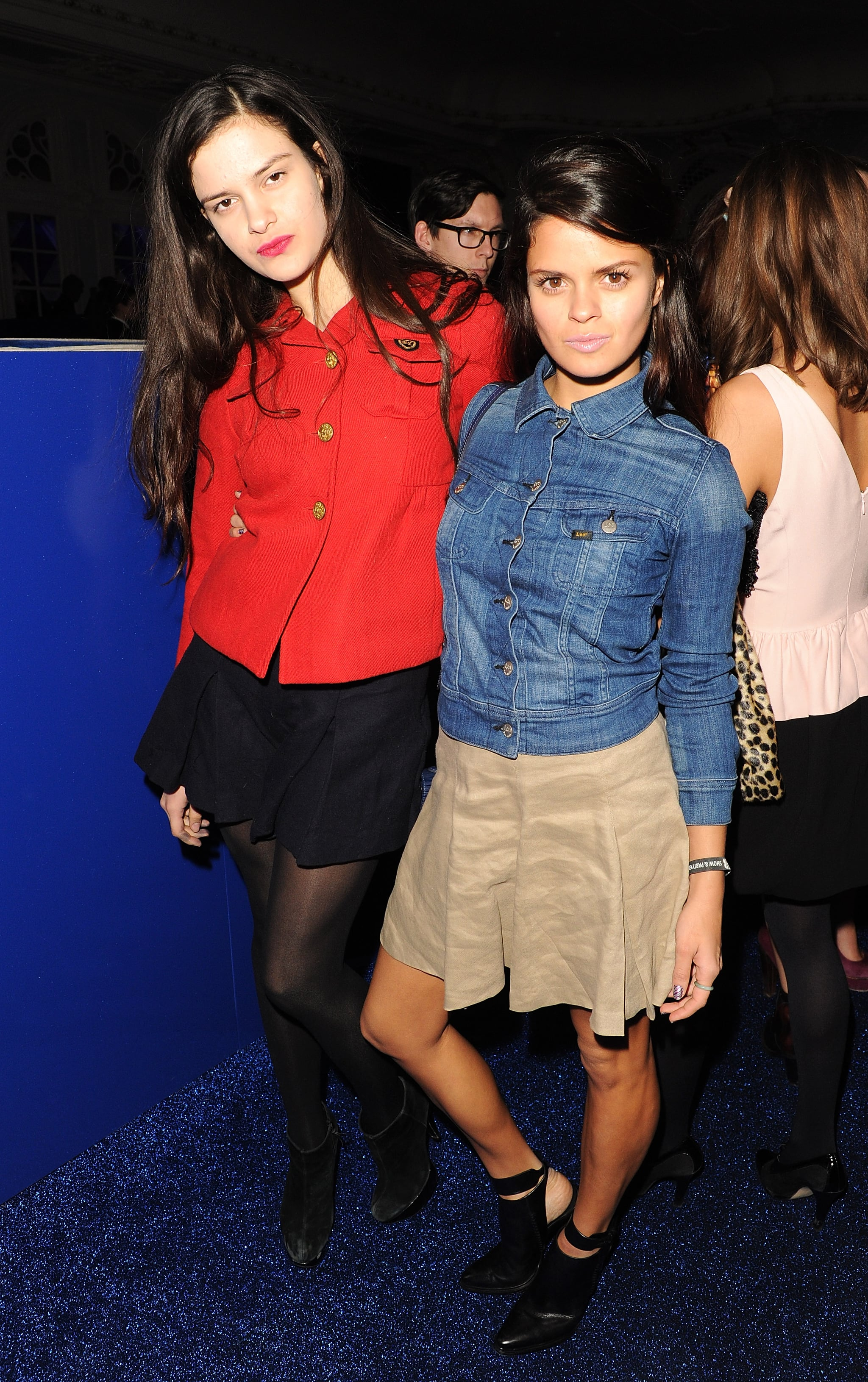 Bip Ling and Evangeline Ling at a post-Brit Awards party in London.