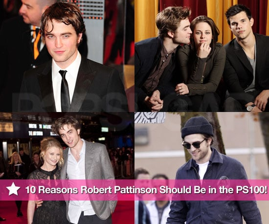 Ten of the Hottest and Cutest Photos of Robert Pattinson