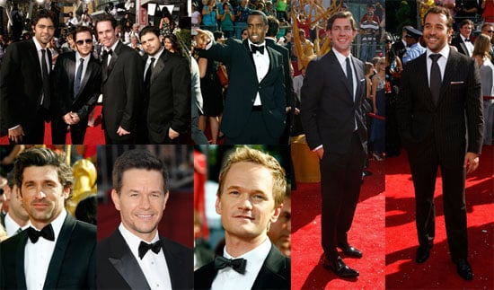 Photos of the Men at the 2008 Emmy Awards
