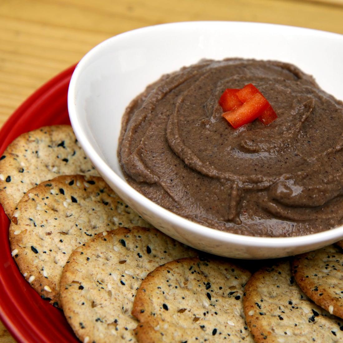 Spicy Black Bean Hummus
