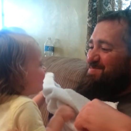 Dad's Peekaboo Surprise | Video