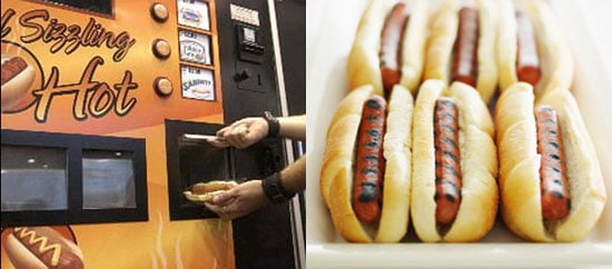 Sausage and South Beach Diet Vending Machines?