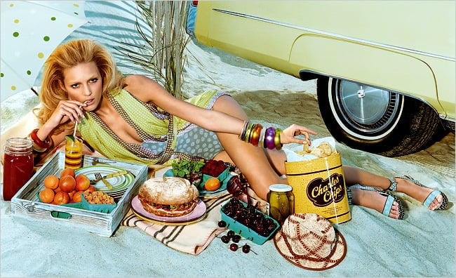 Food Has Never Looked So Fashionable
