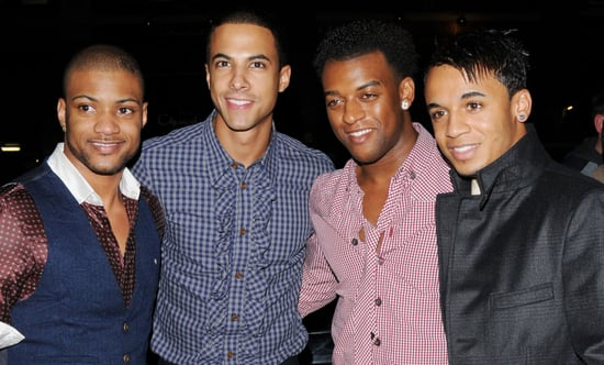 Photos of JLS At Little Voice Preview in London, Photos of JLS aka Marvin, JB, Oritse and Aston in London, JLS Staying in the UK