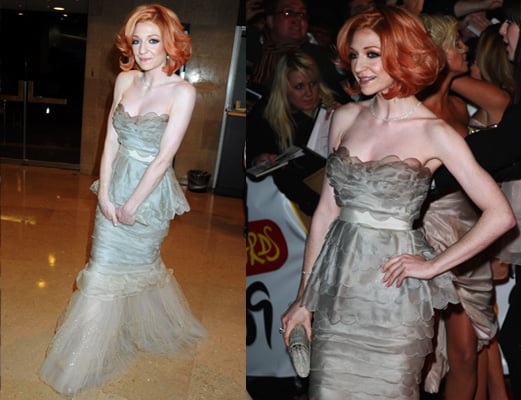 Nicola Roberts from Girls Aloud at the 2009 Brit Awards