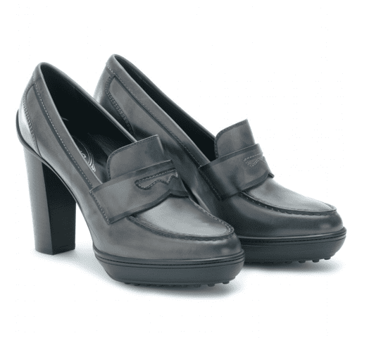 Think of this as your go-to pair — no bells and whistles — but a timeless shape and quality leather.   Tod's Penny Loafer Pumps ($505)