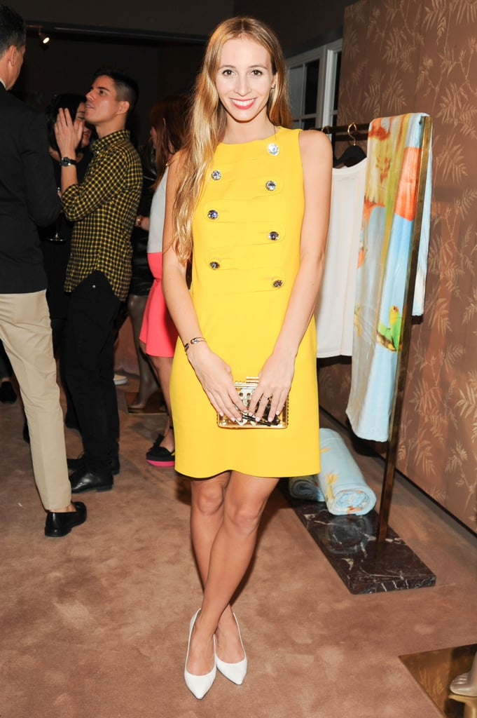 Harley Viera-Newton at Calvin Klein's The Webster Miami party.