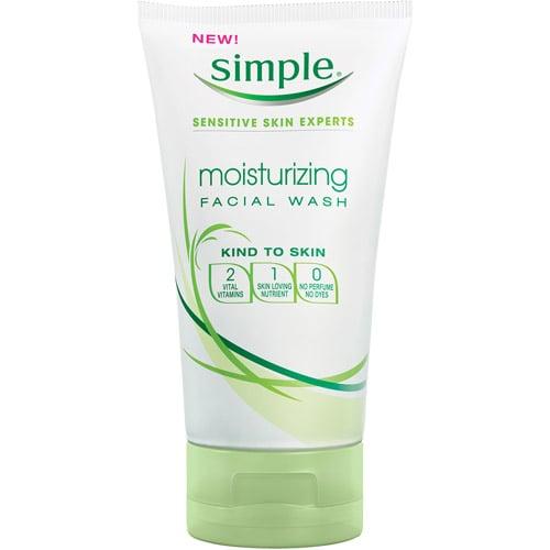 Simple Moisturizing Facial Wash