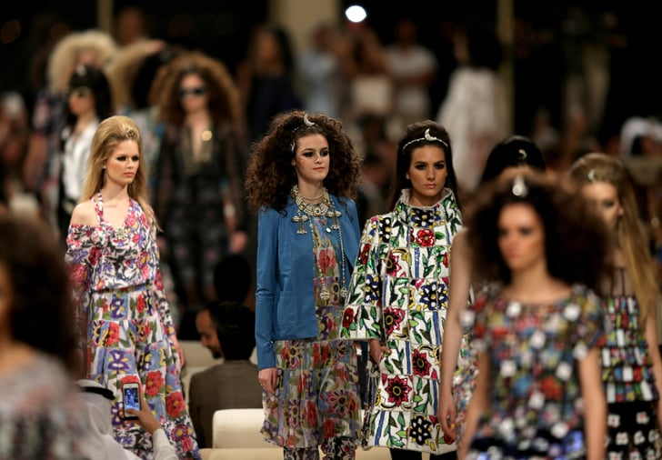Chanel Takes Disco Beauty to Dubai for Its Newest Runway