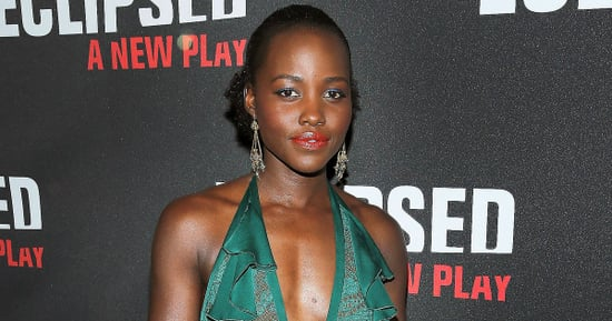 Lupita Nyong'o's Blood-Orange Lip Was Crafted From These Three Products