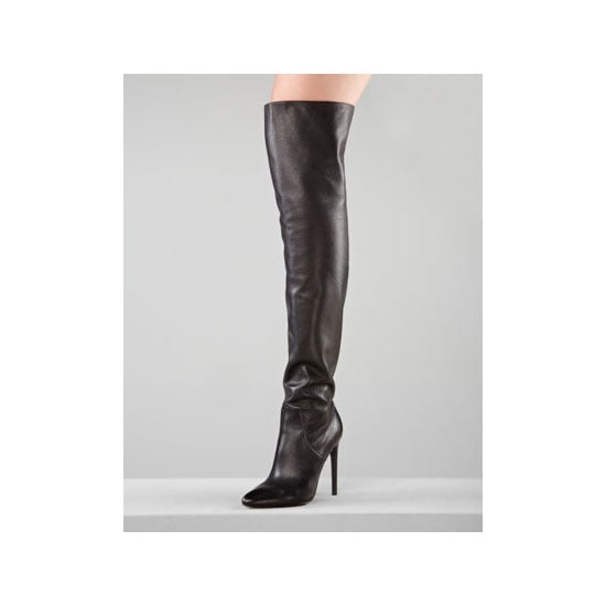 I bought these a couple of weeks ago and I'm positively DYING to wear them. My fiancé is really scared I'm going to look like a stripper but seriously, I'll be wearing them with long hemlines and over skinny jeans with oversized jumpers. — Alison, beauty and health & fitness editor Boots, approx $419, Alexander Wang at Neiman Marcus