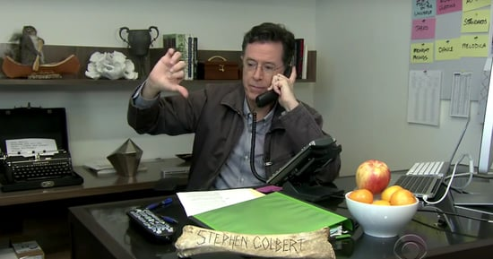 Stephen Colbert Pesters The Good People Of The Butterball Turkey Hotline