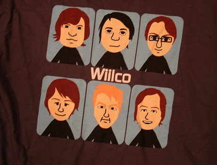 Wilco Hops On the Wii Train With Wiilco Tees
