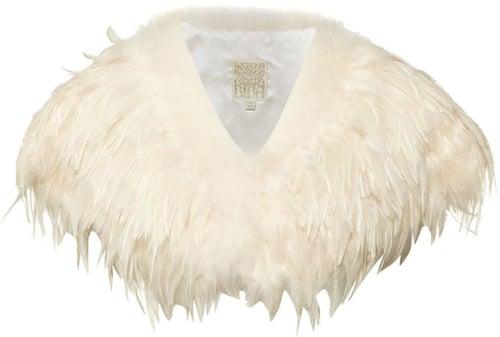 Biba Marabou and feather cape