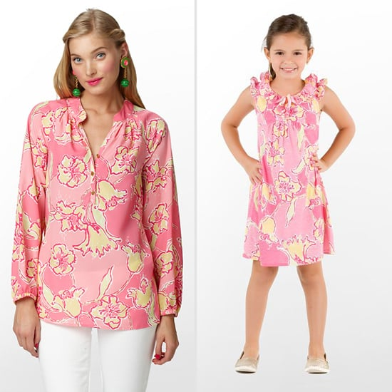 Lilly Pulitzer Elsa Top ($158) and Mini Clare Dress ($68)
