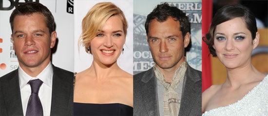 Matt Damon, Jude Law, Marion Cotillard, and Kate Winslet to Star in Steven Soderbergh's Contagion 2010-02-09 10:00:38