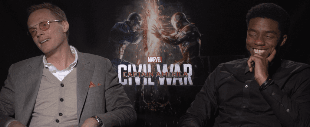 "Chadwick Boseman and Paul Bettany Call Being Avengers a ""Blessing"""